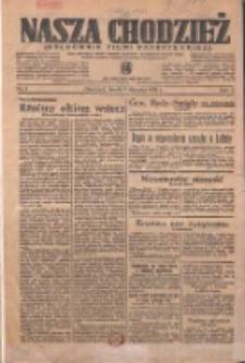 Nasza Chodzież: organ poświęcony obronie interesów narodowych na zachodnich ziemiach Polski 1936.01.01 R.7 Nr1