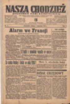 Nasza Chodzież: organ poświęcony obronie interesów narodowych na zachodnich ziemiach Polski 1936.01.04 R.7 Nr3