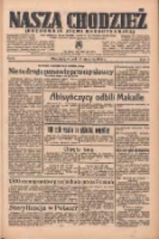 Nasza Chodzież: organ poświęcony obronie interesów narodowych na zachodnich ziemiach Polski 1936.01.14 R.7 Nr10
