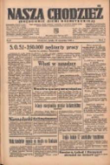 Nasza Chodzież: organ poświęcony obronie interesów narodowych na zachodnich ziemiach Polski 1936.01.15 R.7 Nr11