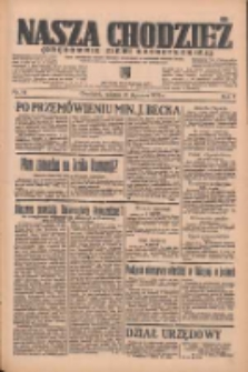 Nasza Chodzież: organ poświęcony obronie interesów narodowych na zachodnich ziemiach Polski 1936.01.18 R.7 Nr14