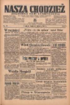 Nasza Chodzież: organ poświęcony obronie interesów narodowych na zachodnich ziemiach Polski 1936.01.29 R.7 Nr23