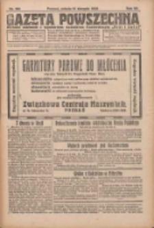 Gazeta Powszechna 1926.08.14 R.7 Nr184