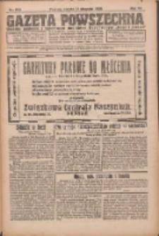 Gazeta Powszechna 1926.08.21 R.7 Nr190