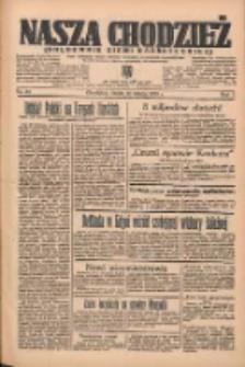 Nasza Chodzież: organ poświęcony obronie interesów narodowych na zachodnich ziemiach Polski 1936.02.12 R.7 Nr35