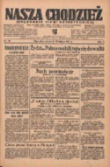 Nasza Chodzież: organ poświęcony obronie interesów narodowych na zachodnich ziemiach Polski 1936.02.13 R.7 Nr36