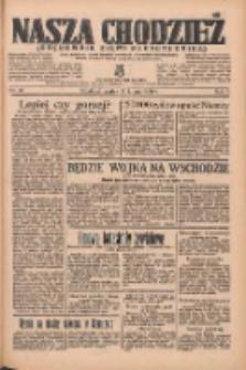 Nasza Chodzież: organ poświęcony obronie interesów narodowych na zachodnich ziemiach Polski 1936.02.14 R.7 Nr37