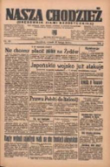 Nasza Chodzież: organ poświęcony obronie interesów narodowych na zachodnich ziemiach Polski 1936.02.18 R.7 Nr40
