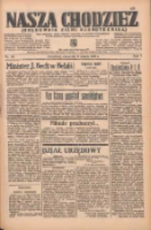 Nasza Chodzież: organ poświęcony obronie interesów narodowych na zachodnich ziemiach Polski 1936.03.05 R.7 Nr54