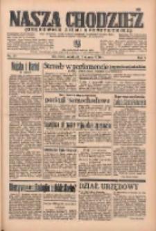 Nasza Chodzież: organ poświęcony obronie interesów narodowych na zachodnich ziemiach Polski 1936.03.08 R.7 Nr57
