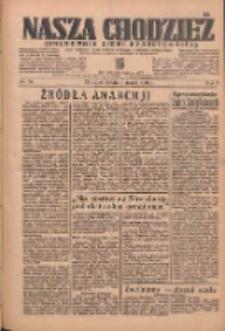 Nasza Chodzież: organ poświęcony obronie interesów narodowych na zachodnich ziemiach Polski 1936.03.11 R.7 Nr59