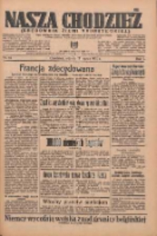 Nasza Chodzież: organ poświęcony obronie interesów narodowych na zachodnich ziemiach Polski 1936.03.17 R.7 Nr64