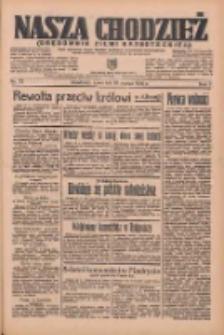 Nasza Chodzież: organ poświęcony obronie interesów narodowych na zachodnich ziemiach Polski 1936.03.26 R.7 Nr72
