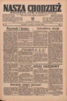 Nasza Chodzież: organ poświęcony obronie interesów narodowych na zachodnich ziemiach Polski 1936.04.02 R.7 Nr78