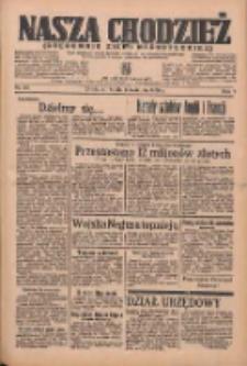 Nasza Chodzież: organ poświęcony obronie interesów narodowych na zachodnich ziemiach Polski 1936.04.08 R.7 Nr83