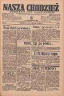 Nasza Chodzież: organ poświęcony obronie interesów narodowych na zachodnich ziemiach Polski 1936.04.09 R.7 Nr84