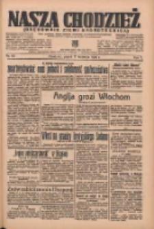Nasza Chodzież: organ poświęcony obronie interesów narodowych na zachodnich ziemiach Polski 1936.04.17 R.7 Nr90
