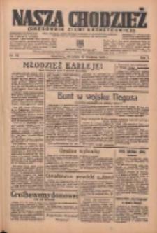 Nasza Chodzież: organ poświęcony obronie interesów narodowych na zachodnich ziemiach Polski 1936.04.19 R.7 Nr92