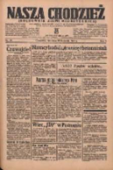 Nasza Chodzież: organ poświęcony obronie interesów narodowych na zachodnich ziemiach Polski 1936.04.26 R.7 Nr98
