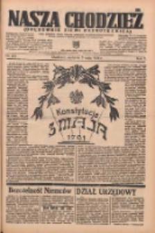 Nasza Chodzież: organ poświęcony obronie interesów narodowych na zachodnich ziemiach Polski 1936.05.03 R.7 Nr104