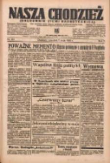 Nasza Chodzież: organ poświęcony obronie interesów narodowych na zachodnich ziemiach Polski 1936.05.07 R.7 Nr107