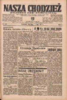 Nasza Chodzież: organ poświęcony obronie interesów narodowych na zachodnich ziemiach Polski 1936.05.10 R.7 Nr110