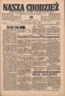 Nasza Chodzież: organ poświęcony obronie interesów narodowych na zachodnich ziemiach Polski 1936.05.16 R.7 Nr115