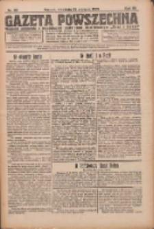 Gazeta Powszechna 1926.08.22 R.7 Nr191