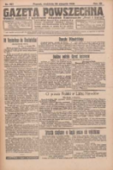 Gazeta Powszechna 1926.08.29 R.7 Nr197