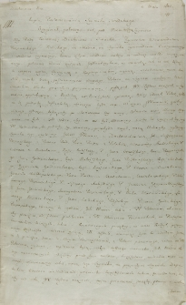 Kopia postanowienia seymiku śrzedzkiego 03.05.1601