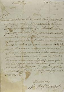 List Ferdynanda i księcia Etrurii do króla Zygmunta III, Florencja 23.06.1601