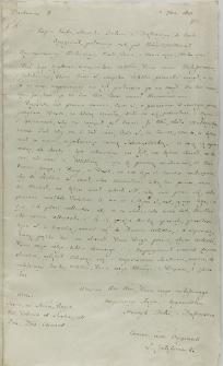 Kopia listu Henryka Firleia z Dąbrowicy do króla Zygmunta III, z Rzymu 01.09.1601