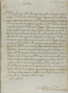 List kardynała Alessandro Perretiego de Montalto do króla Zygmunta III, Rzym 12.12.1614