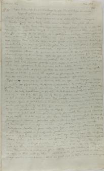 List Jakuba Sienińskiego do Stanisława Tarnowskiego kasztelana sandomierskiego, 01.03.1616