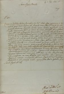List kardynała Ludovisiego do króla Zygmunta III, Rzym 05.09.1622