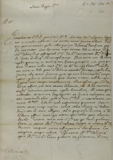 List kardynała Ludovisiego do króla Zygmunta III, Rzym 10.09.1622