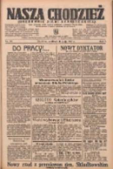 Nasza Chodzież: organ poświęcony obronie interesów narodowych na zachodnich ziemiach Polski 1936.05.17 R.7 Nr116