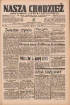 Nasza Chodzież: organ poświęcony obronie interesów narodowych na zachodnich ziemiach Polski 1936.05.19 R.7 Nr117
