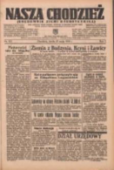Nasza Chodzież: organ poświęcony obronie interesów narodowych na zachodnich ziemiach Polski 1936.05.27 R.7 Nr123