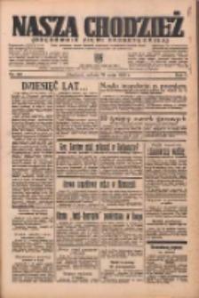 Nasza Chodzież: organ poświęcony obronie interesów narodowych na zachodnich ziemiach Polski 1936.05.30 R.7 Nr126