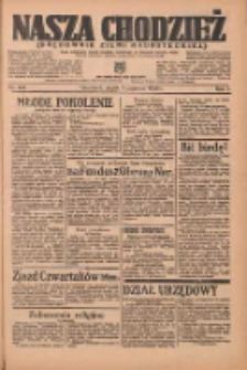 Nasza Chodzież: organ poświęcony obronie interesów narodowych na zachodnich ziemiach Polski 1936.06.05 R.7 Nr130