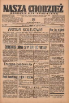 Nasza Chodzież: organ poświęcony obronie interesów narodowych na zachodnich ziemiach Polski 1936.06.09 R.7 Nr133