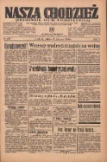 Nasza Chodzież: organ poświęcony obronie interesów narodowych na zachodnich ziemiach Polski 1936.06.16 R.7 Nr138
