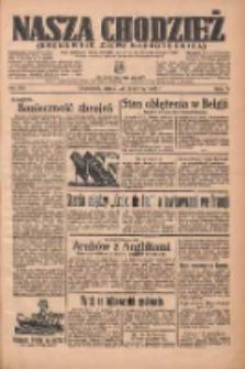 Nasza Chodzież: organ poświęcony obronie interesów narodowych na zachodnich ziemiach Polski 1936.06.24 R.7 Nr145
