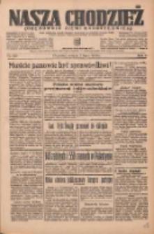 Nasza Chodzież: organ poświęcony obronie interesów narodowych na zachodnich ziemiach Polski 1936.07.07 R.7 Nr155