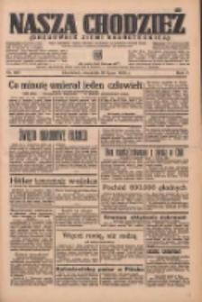 Nasza Chodzież: organ poświęcony obronie interesów narodowych na zachodnich ziemiach Polski 1936.07.16 R.7 Nr163