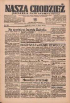 Nasza Chodzież: organ poświęcony obronie interesów narodowych na zachodnich ziemiach Polski 1936.07.22 R.7 Nr168