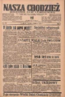 Nasza Chodzież: organ poświęcony obronie interesów narodowych na zachodnich ziemiach Polski 1936.07.26 R.7 Nr172