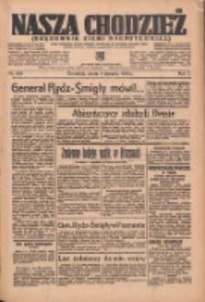 Nasza Chodzież: organ poświęcony obronie interesów narodowych na zachodnich ziemiach Polski 1936.08.05 R.7 Nr180