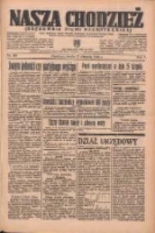 Nasza Chodzież: organ poświęcony obronie interesów narodowych na zachodnich ziemiach Polski 1936.08.12 R.7 Nr186
